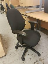Twin lever Operators Chair with Adjustable Arms