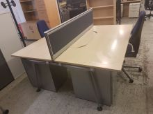 Herman Miller Abak Bench Desk