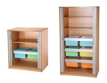TC730 Tambour Cupboard
