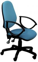 Oversized High Back Twin Lever Operators Chair with Loop Arms