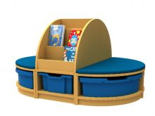 Book and Seat Storage Island 1