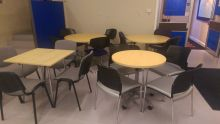 Various Meeting Tables and chair sets from £60