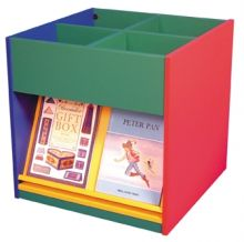 Mobile Kinder Box with Display Shelves