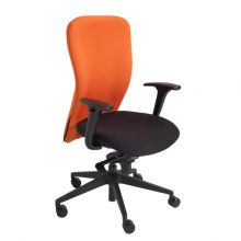 MAC High Backed Task Chair with Adjustable Arms