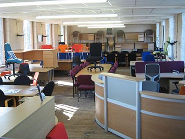Used Office Desks In Bradford Amp Leeds Office Set Up